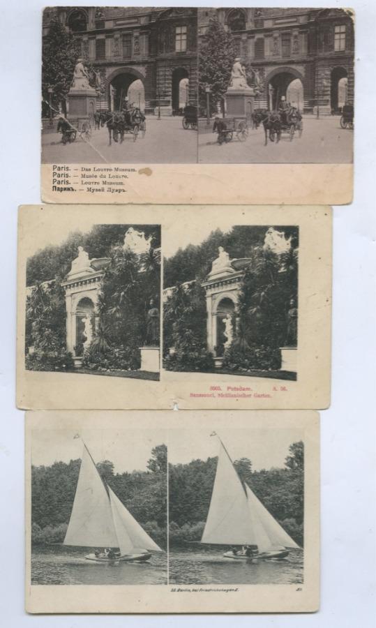 Набор стерео открыток (Российская Империя)