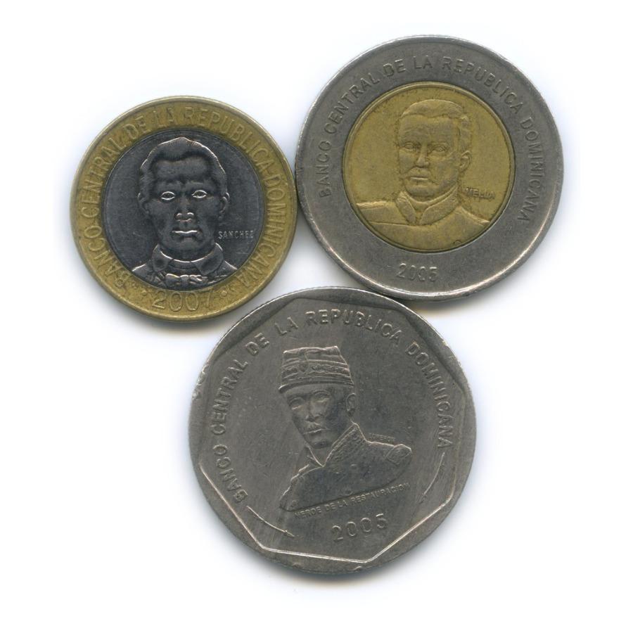 Набор монет 2005, 2007 (Доминикана)