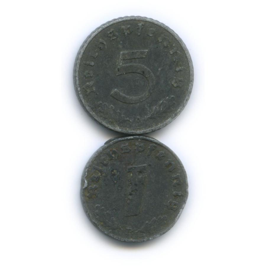 Набор монет 1942, 1944 (Германия (Третий рейх))