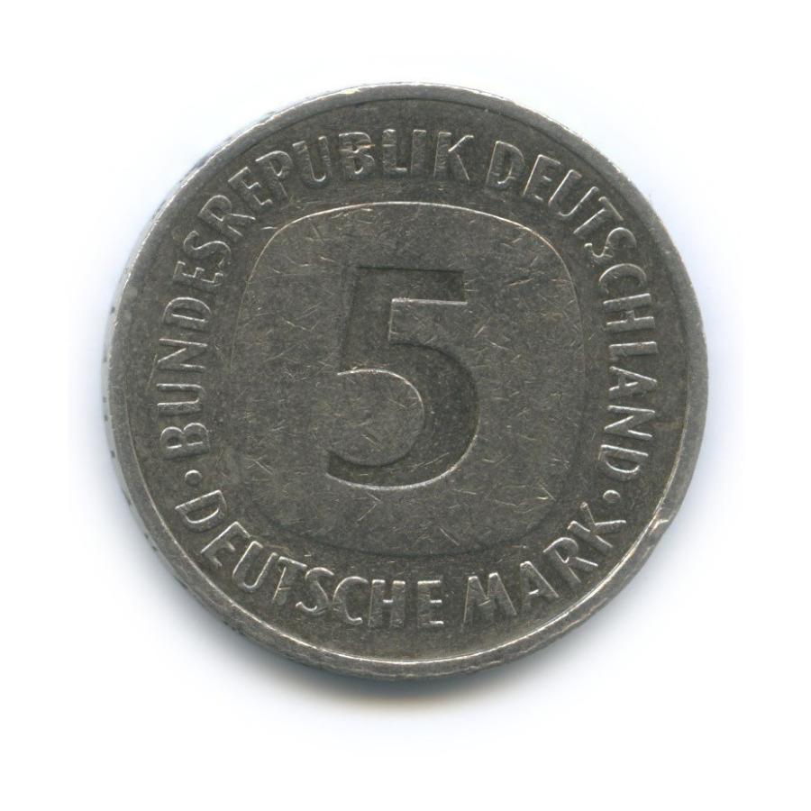 5 марок 1989 года D (Германия)
