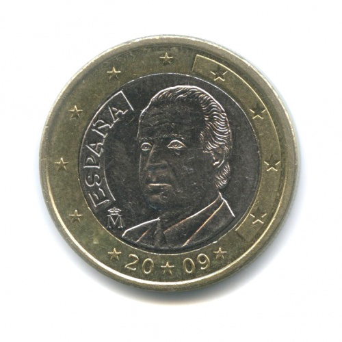 1 евро 2009 года (Испания)