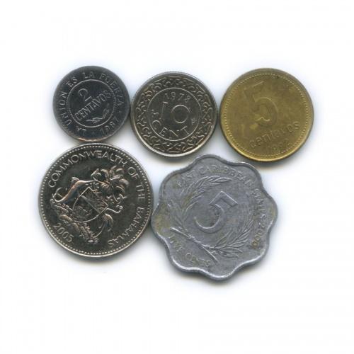 Набор монет (Государства Латинской Америки)