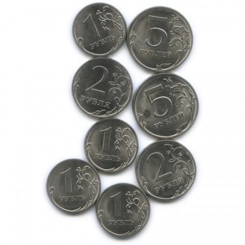 Набор монет России (магнит) 2013 года СПМД (Россия)