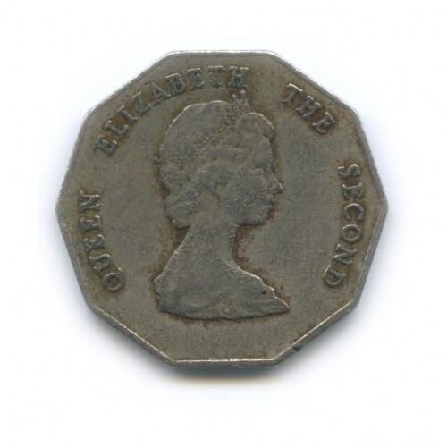 1 доллар, Восточные Карибы 1989 года