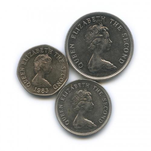 Набор монет, Джерси 1980, 1983