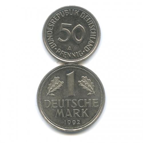 Набор монет 1990, 1992 (Германия)