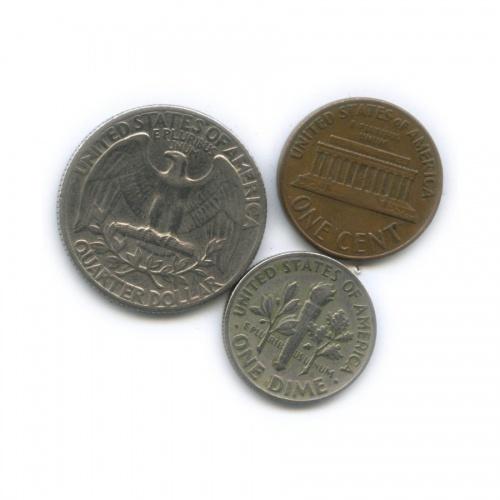 Набор монет 1965, 1969 (США)