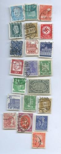 Набор почтовых марок (20 шт.) (Германия)