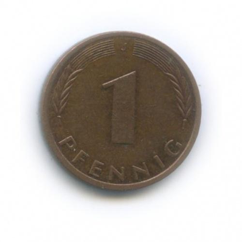 1 пфенниг 1991 года J (Германия)