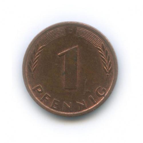 1 пфенниг 1988 года D (Германия)