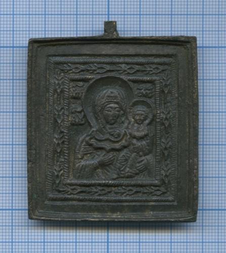 Иконка нательная «Богоматерь Смоленская»