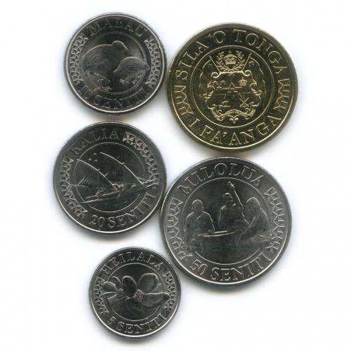 Набор монет, Тонга 2015 года