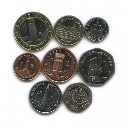 Набор монет, Остров Мэн 2010 года