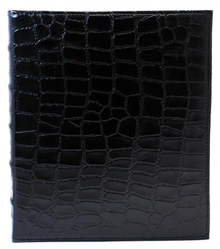Папка накольцах для хранения (натуральная кожа) (Италия)