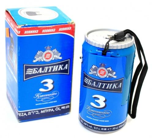 Фотоаппарат «Балтика» (f35 мм, встроенная вспышка), 12,5 см (Россия)