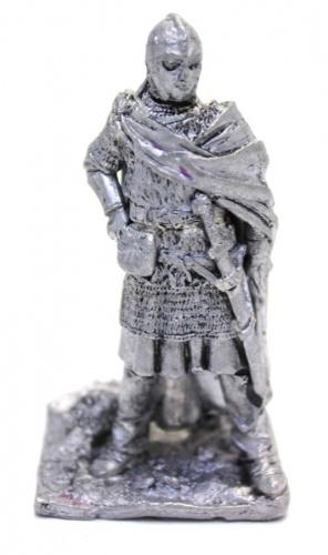 Фигурка «Воин» (олово, клейма Gilar (G.La Rocca), тяжелый, 6,5 см)