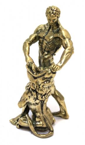 Фигурка «Самсон» (бронза, 7 см)