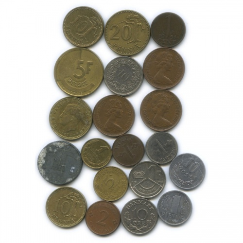 Набор монет (разные страны)