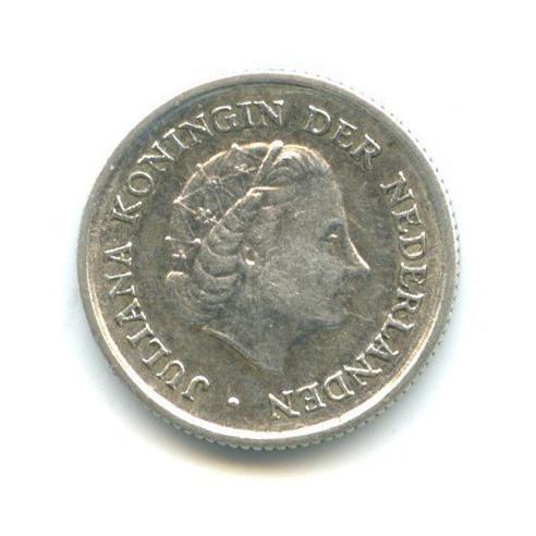 1/10 гульдена - Нидерландские Антильские острова 1963 года