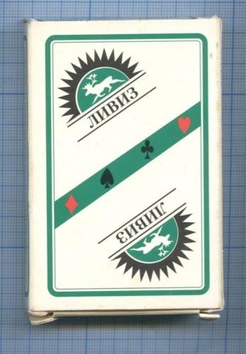 Карты игральные «Ливиз» (36 шт.)