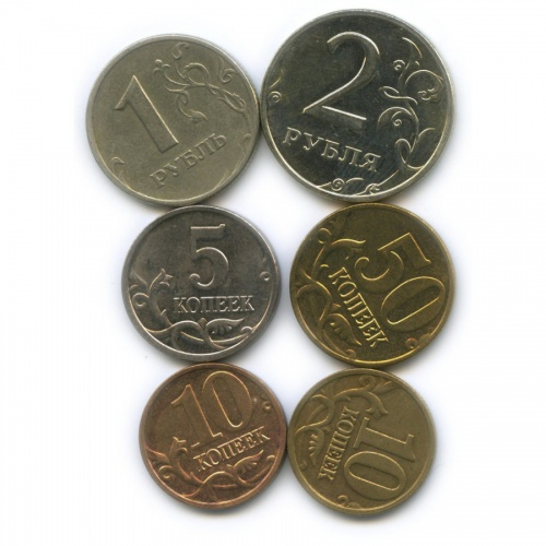 Набор монет России 2006 года ММД (Россия)