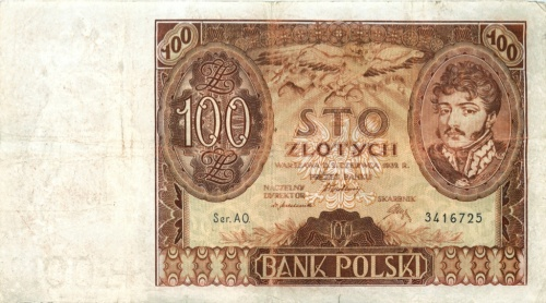 100 злотых 1932 года (Польша)