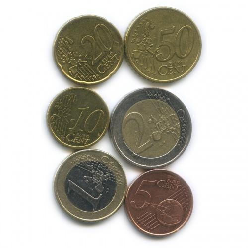Набор монет 1999 года (Финляндия)