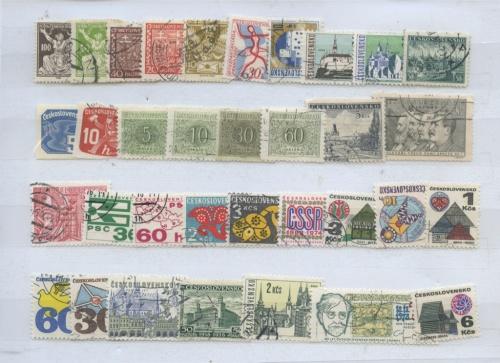 Набор почтовых марок (Чехословакия)