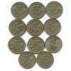 Набор монет 2 рубля — Новороссийск, 55 лет Победы 2000 года (Россия)