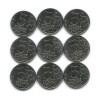 Набор монет 5 рублей - 70 лет победы вВеликой Отечественной войне (1941-1945) 2014 года (Россия)