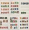 Набор почтовых/не почтовых  марок (разные страны, вальбоме)
