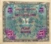 5 марок (оккупация) 1944 года (Германия)