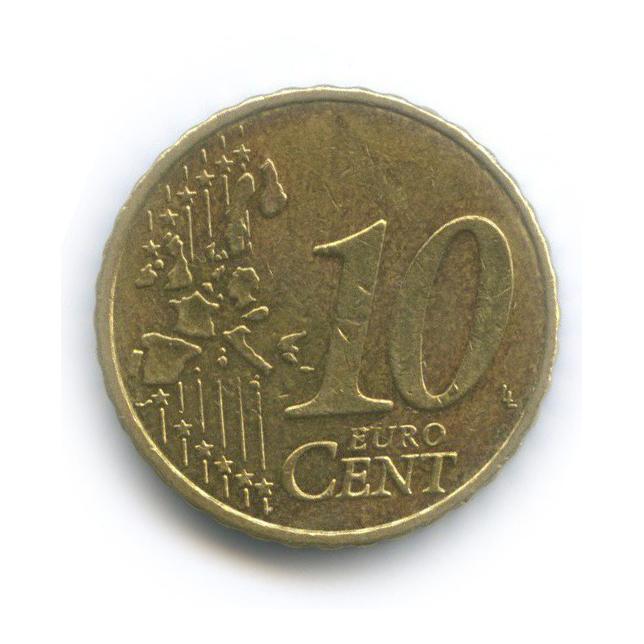 10 центов 2004 года (Бельгия)