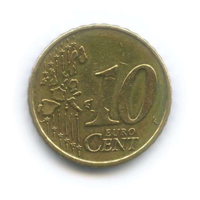 10 центов 1999 года (Нидерланды)