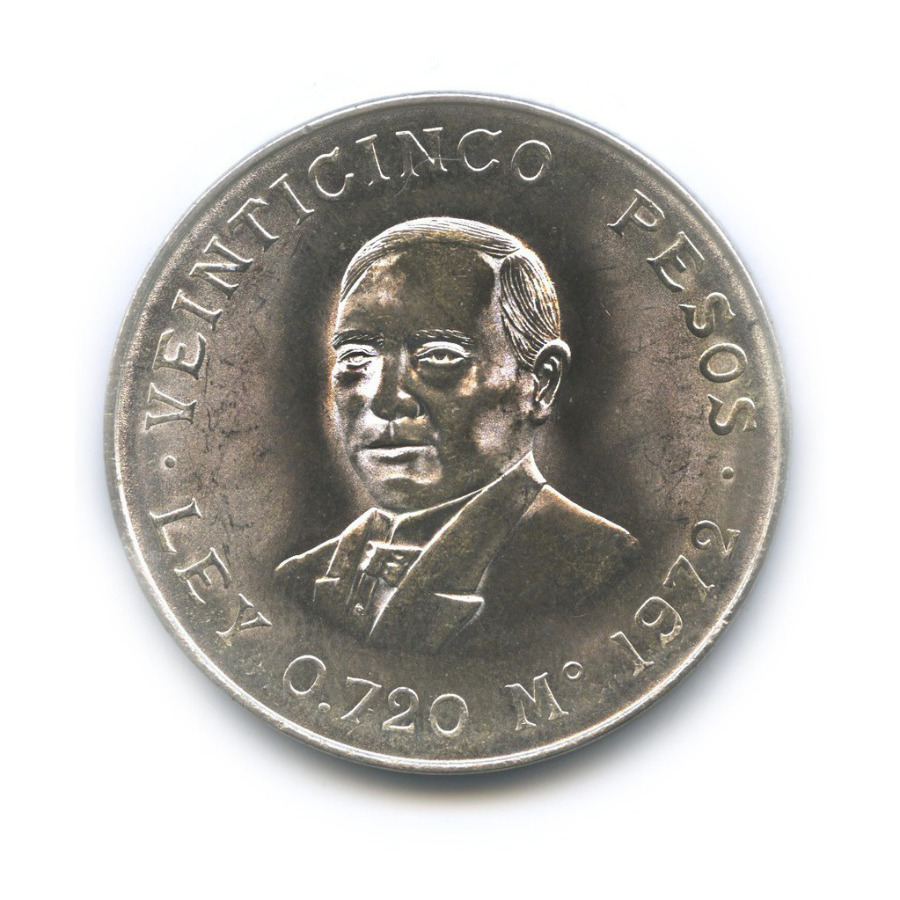 25 песо 1972 года (Мексика)