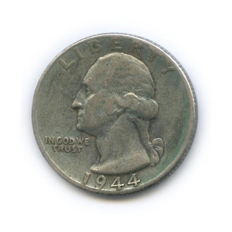 25 центов (квотер) 1944 года (США)