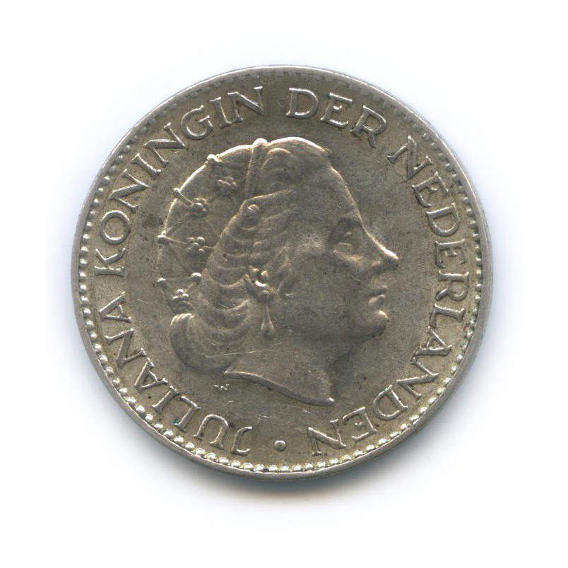1 гульден 1955 года (Нидерланды)