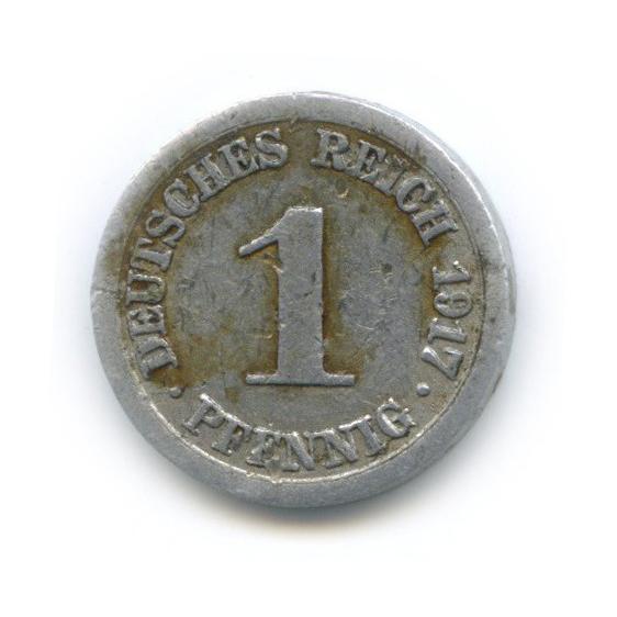 1 пфенниг 1917 года A (Германия)
