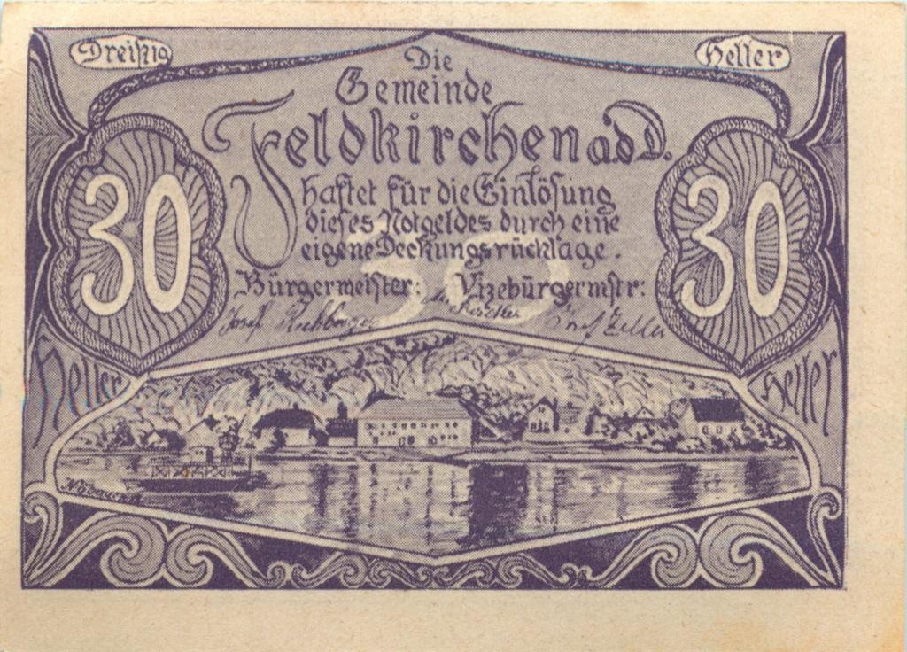 30 геллеров (нотгельд) (Австрия)