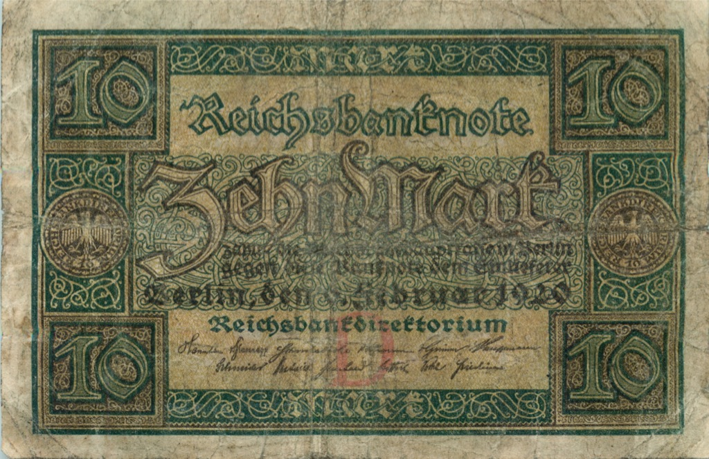 10 марок 920 года (Германия)