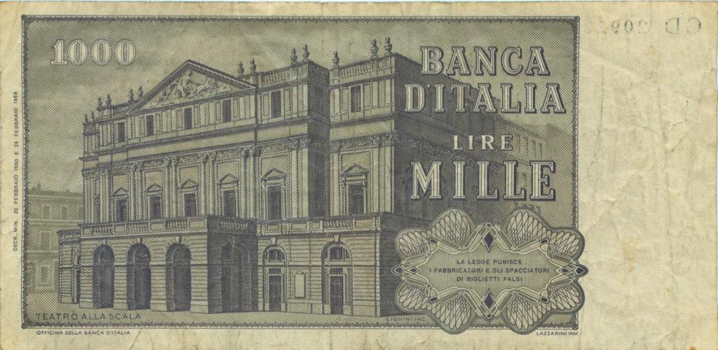 1000 лир (Италия)