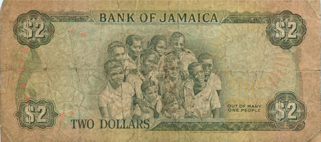 2 доллара 1992 года (Ямайка)