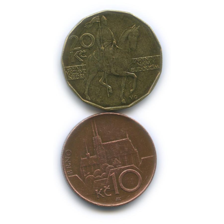 Набор монет 1993, 1996 (Чехия)