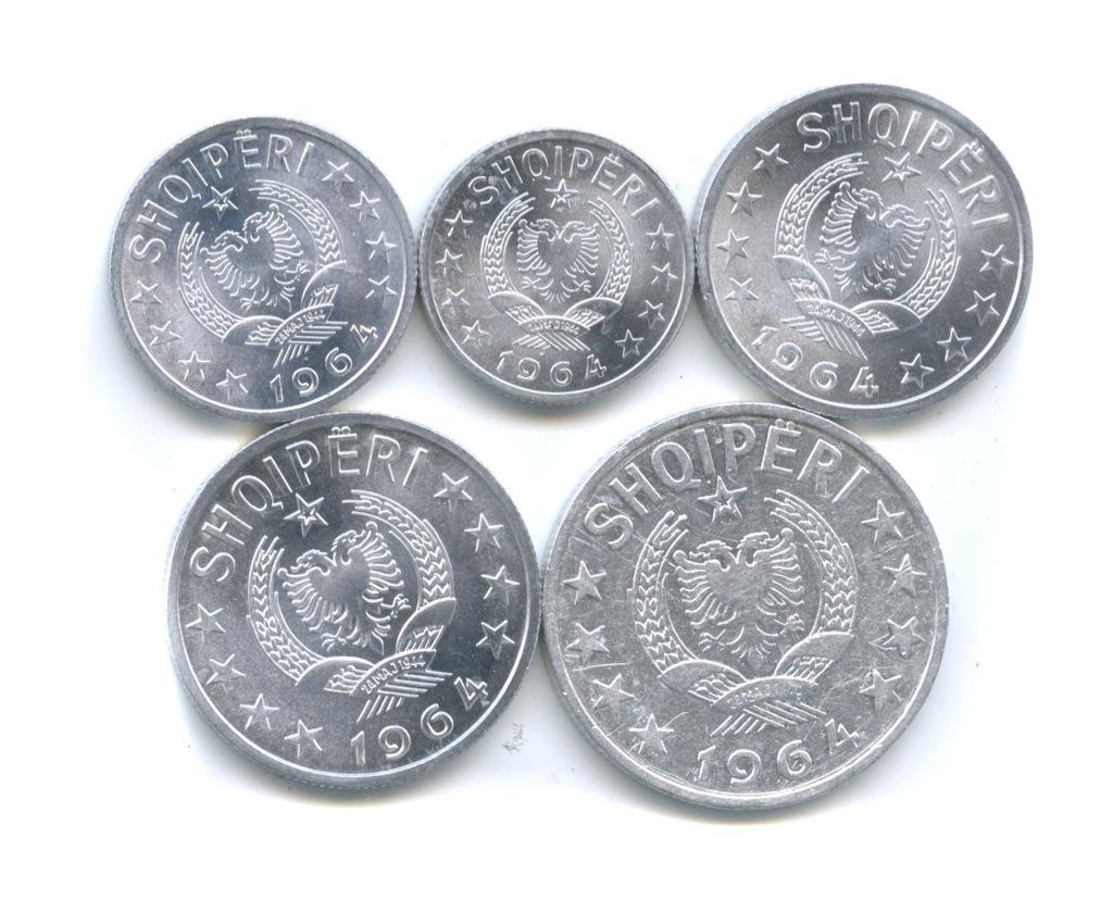 Набор монет 1964 года (Албания)