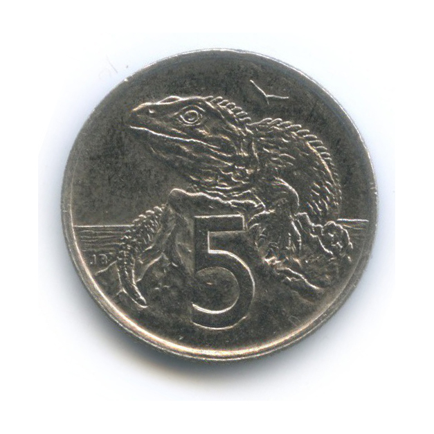5 центов 1999 года (Новая Зеландия)
