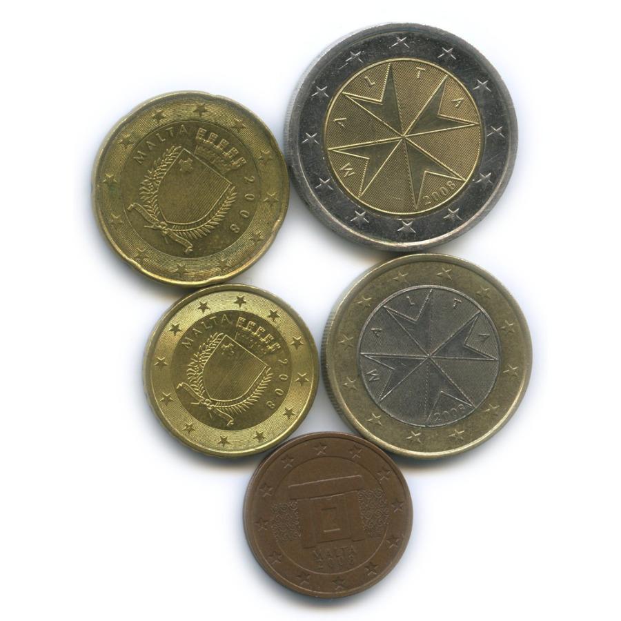 Набор монет 2008 года (Мальта)