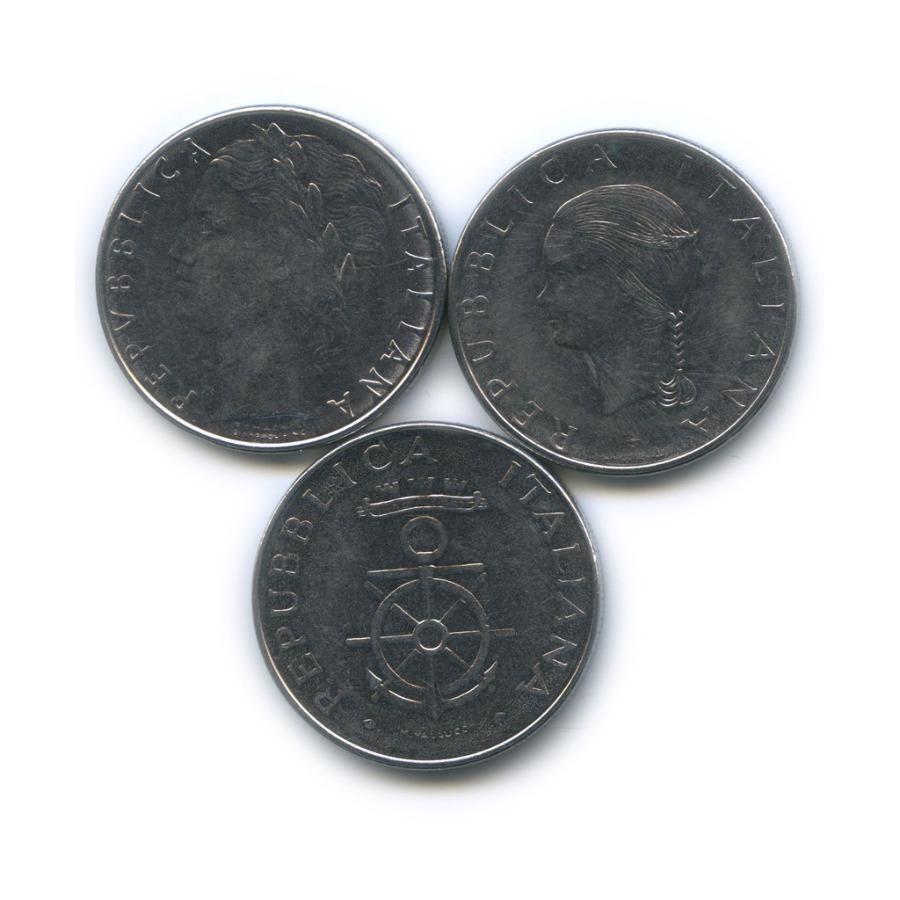 Набор монет 100 лир 1979, 1981 (Италия)