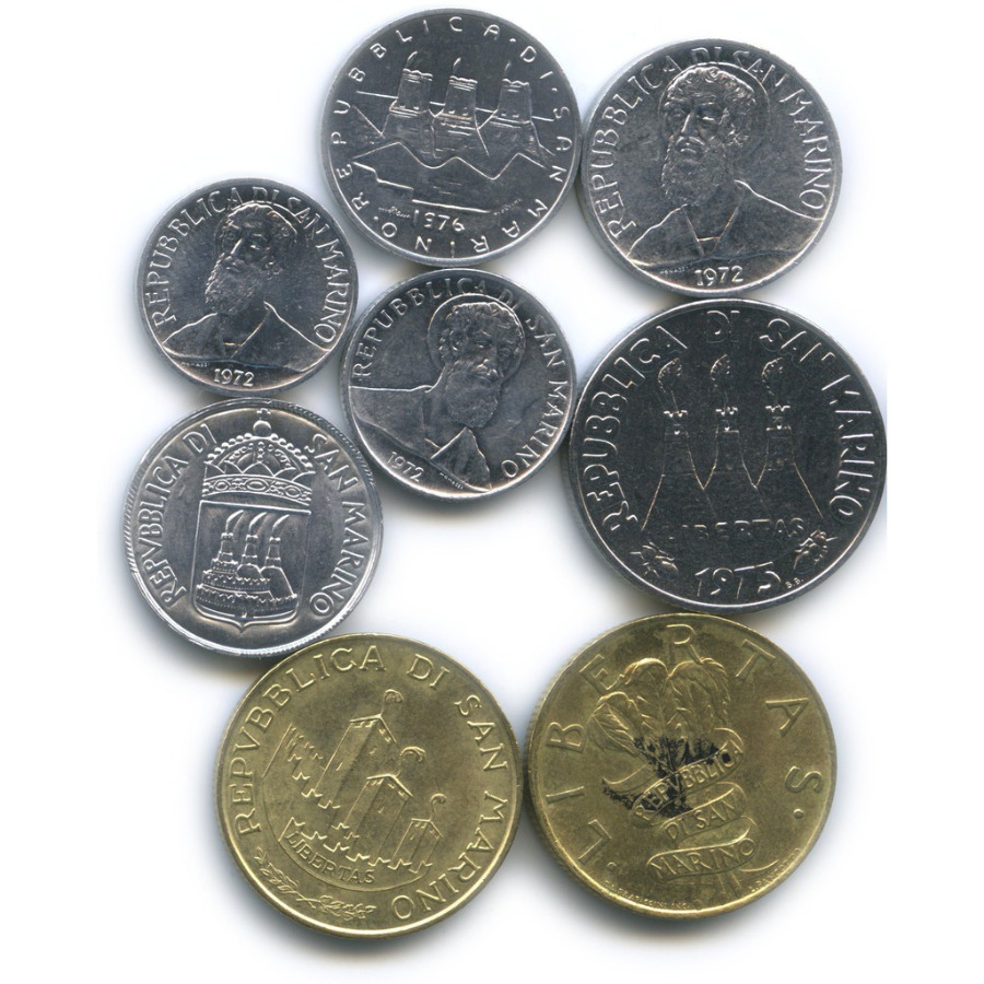 Набор монет (Сан-Марино)