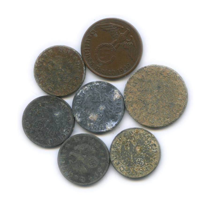 Набор монет (Германия (Третий рейх))