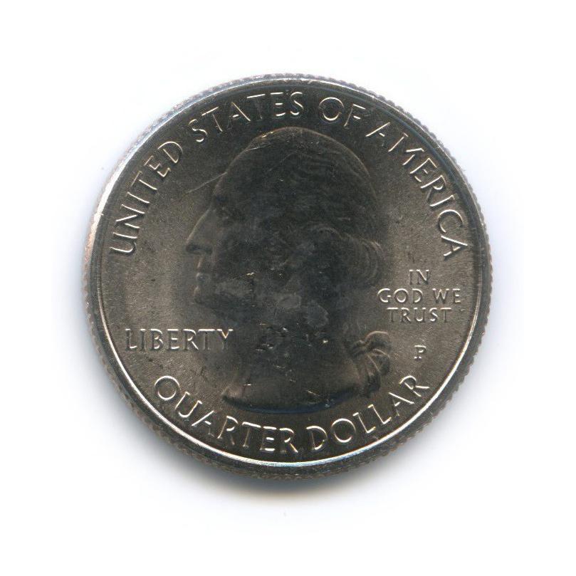 25 центов (квотер) - Национальный исторический парк Харперс Ферри 2016 года Р (США)